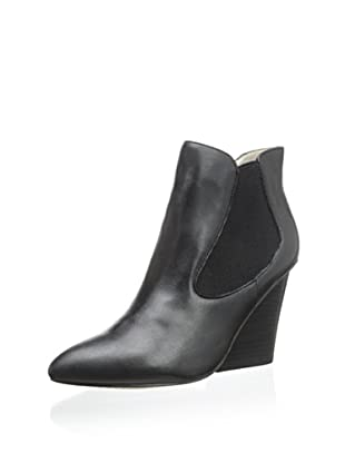 STEVEN by Steve Madden Women's Maliik Bootie (Black Leather)