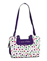 Wcl Ladies Handbag Regular Pattern Purple Color