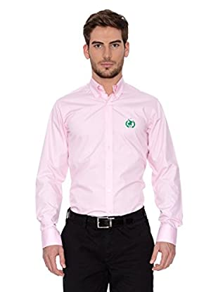 Polo Club Camisa Hombre Fitted (Rosa)