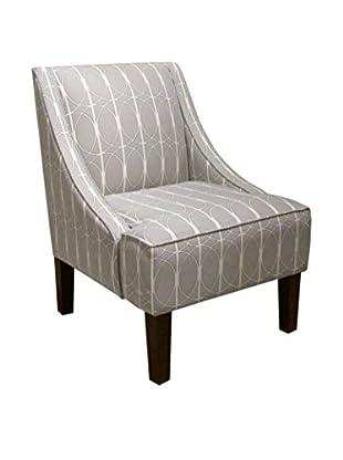 Skyline Furniture Swoop Arm Chair, Menton Linen