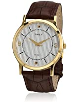 Classics Ti000R40400 Brown/White Analog Watch