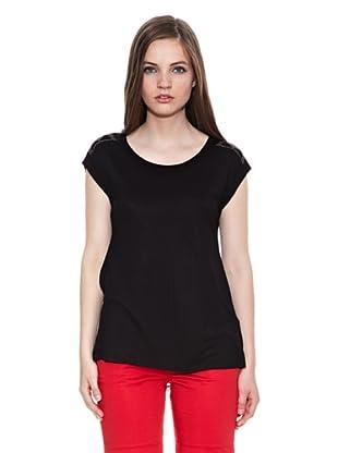 Carrera Jeans Camiseta Girocollo (Negro)