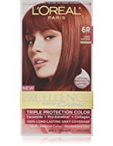 L Oreal Paris Excellence Creme Hair Color - 6R Light Auburn