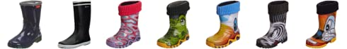 Toughees Shoes Kids Warm Fleece-sock Duck Wellies Wellingtons Boot