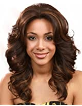 Bobbi Boss Lace Front Wig Mlf14 Pearl S Color# 1 Jet Black