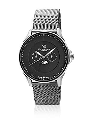 Christina Design London Reloj de cuarzo Man Black Moon 44 mm