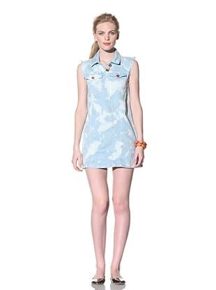 House of Holland Women's Beach Denim Dress (Blue)