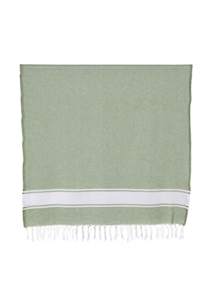 Nine Space Ayrika Collection Classic Fouta Towel (Green)
