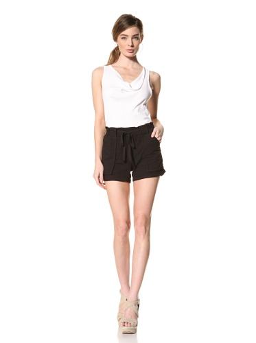 Splendid Women's Drawstring Short (Black)