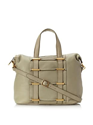 Allibelle Women's Tunnel Satchel (Khaki)
