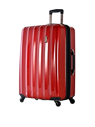Olympia Titan 29 Inch Expandable Large-Size Hard Case Spinner, Red