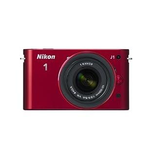 Nikon 0-30VR 10.1MP Mirrorless Camera (Red) with 4 GB Card and Camera Bag