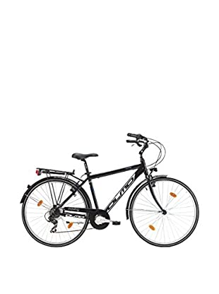 Olmo Bicicleta City Moving 7V Hombre Negro