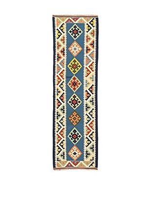RugSense Alfombra Kilim Kashkai Azul/Multicolor
