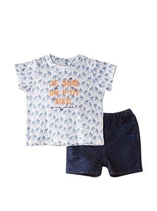 3 Pommes T-Shirt und Shorts