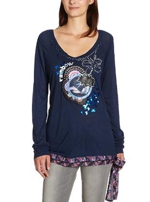 Desigual Camiseta 27T2563 (Azul)