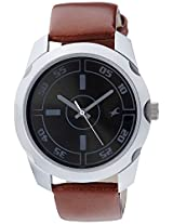 Fastrack Black Dial Analog Watch For Men-3123SL03