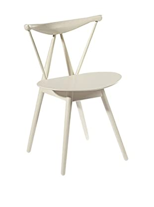 Fine Mod Fronter Dining Chair, White