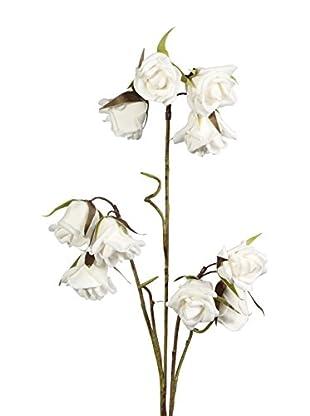 Flor Artificial Blanco