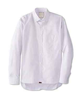 Billy Reid Men's Rosedale Woven Shirt (Red/White/Blue)