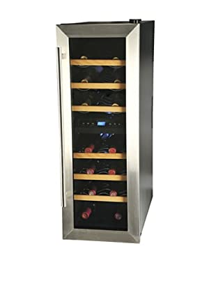 Kalorik 21-Bottle Wine Bar (Black/Silver)