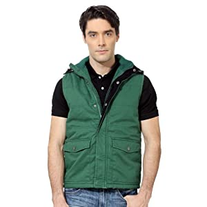 Slim Fit Polyester Jacket