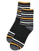 69th Avenue Men's Cotton Socks (Gray)