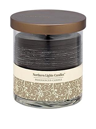 Northern Lights 14-Oz. Glass Pillar Candle, Black Currant & Clove