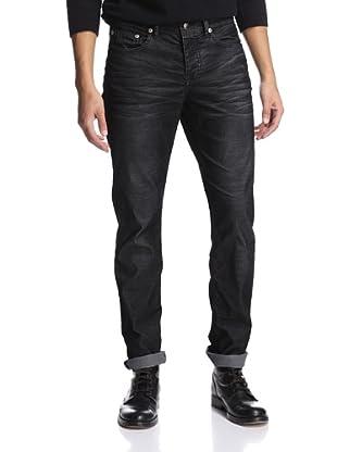 Stitch's Men's Barfly Slim Straight Corduroy Pant (Rebel Black)