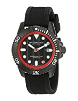 Stuhrling Original Analog Black Dial Men's Watch - 328R.335675
