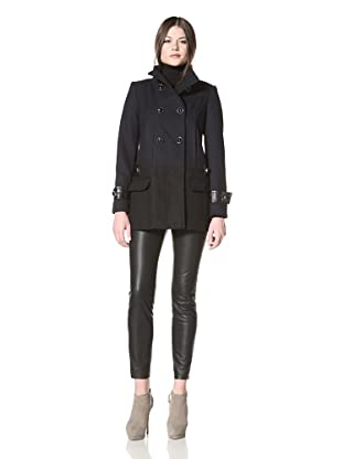 Vince Camuto Women's Double Breasted Jacket (Navy/Black)