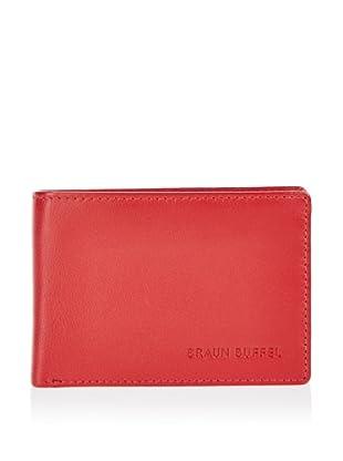 Braun Büffel Portemonnaie (Rot)