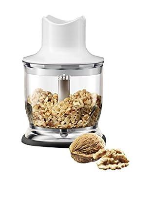 Braun Multiquick Zerkleinerer 350 ml weiß