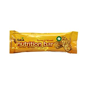GAIA NUTRITION BAR HONEY & MUESLI 30GM