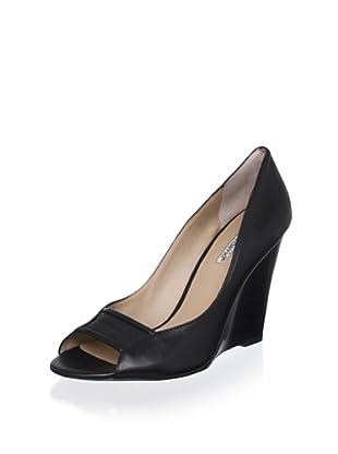 Charles David Women's Cimino Wedge (Black Leather)