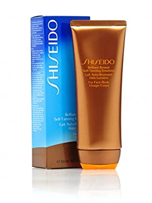 Shiseido Brillant Bronze Self-Tanning Emulsion, 100 ml , Preis/100ml: 20.95 €
