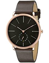 Skagen Hagen Analog Black Dial Men's Watch - SKW6213