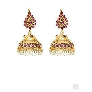 Orchid Delight Ethnic Earrings