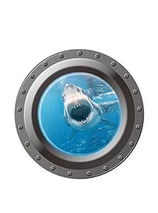 LO+DEMODA Wandtattoo Submarine