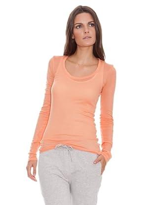 American Vintage Camiseta Massachussets (Naranja)