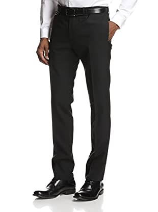 Dior Men's Flat-Front Pants (Black)