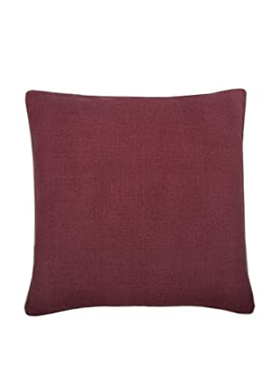 Thomas Paul Solid Feather Pillow, Ruby