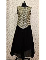 Bollywood Replica House Nargis Fakhri Gown - Black