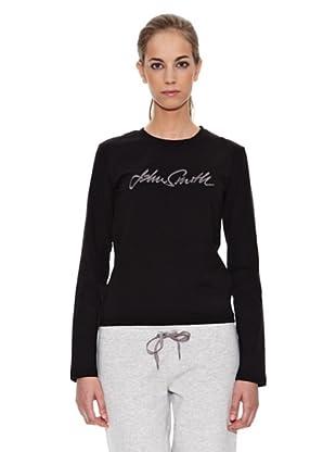John Smith Camiseta Tamega (Negro)