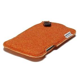 ハンドメイドフェルトケース for iPod touch オレンジ