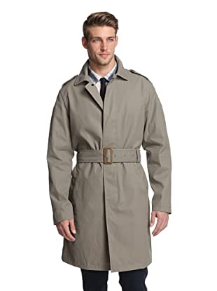 Todd Snyder Men's Double Faced Bonded Trench (Grey)