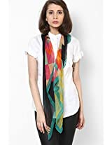 Multicolor Georgette Stole