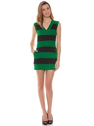 HHG Vestido Cebra (Verde)