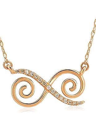 Divas Diamond Collar Diamond Gold Infinity