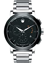 Movado Museum Sport Analogue Black Dial Men's Watch - 606792